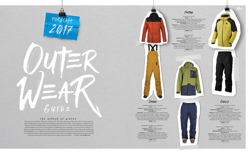 Forecast issue 2.2 preview outerwear