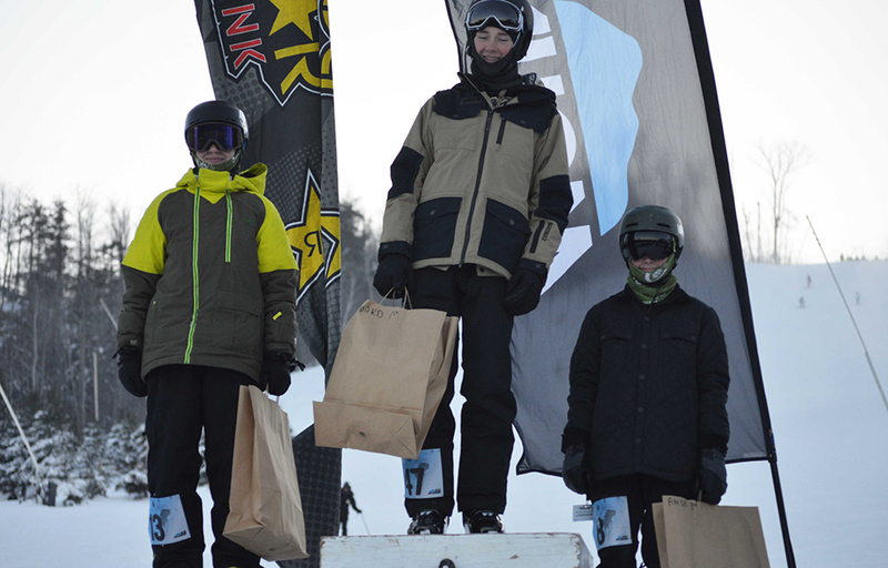 Frozen rail jam 2017 results 1